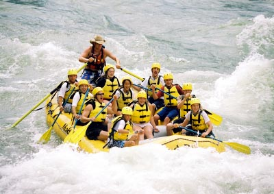 [Rafting Group Photo]